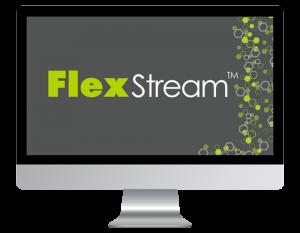 FlexStream Screen Logo